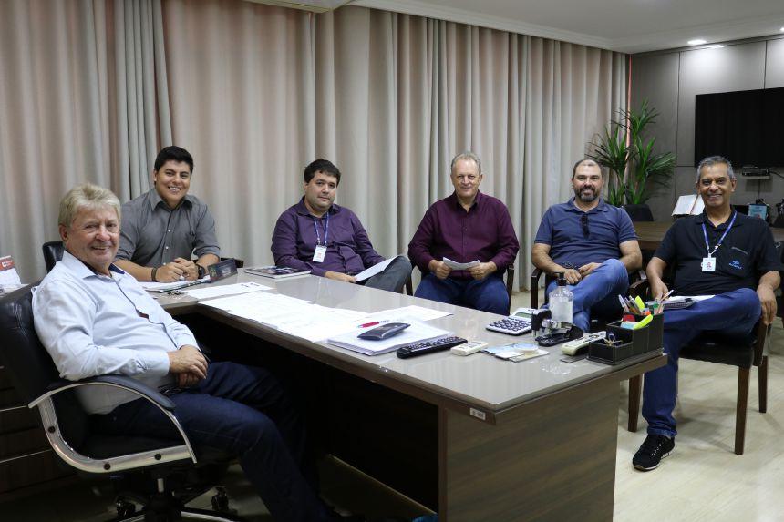Governo Municipal de Cafelândia participa de reunião com a equipe da Sanepar
