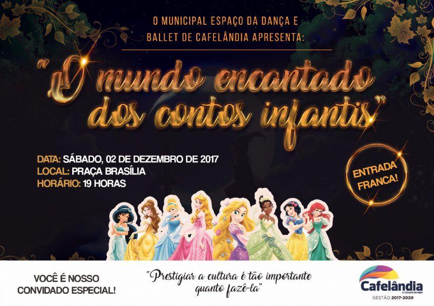 Secretaria de Educação e Cultura de Cafelândia promove fim de semana de apresentações culturais natalinas