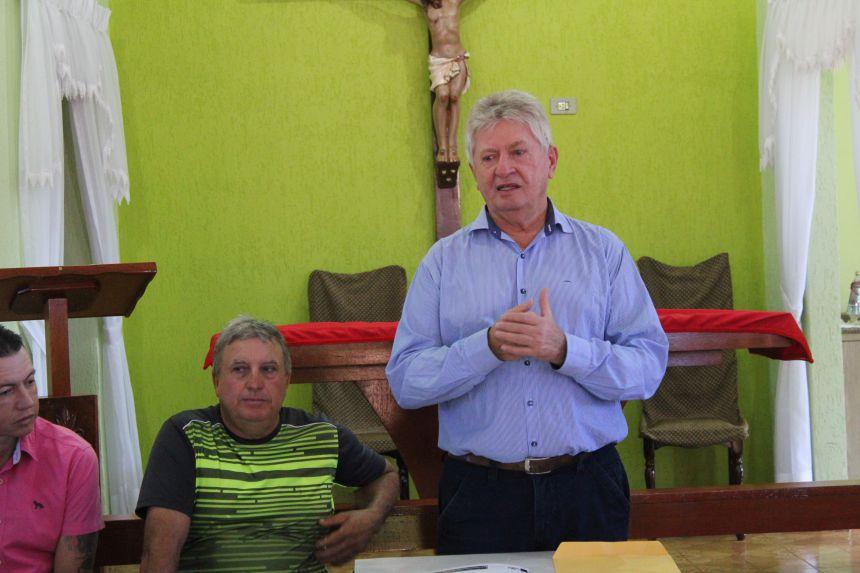 Dr. Franus anuncia calçamento poliédrico de Cafelândia ao Central Santo Antônio