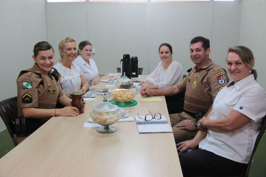 Governo Municipal de Cafelândia, Copacol e Polícia Militar firmam parceria do Proerd