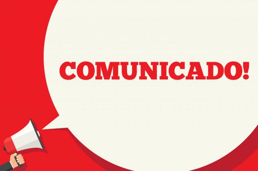 Comunicado do Governo Municipal de Cafelândia