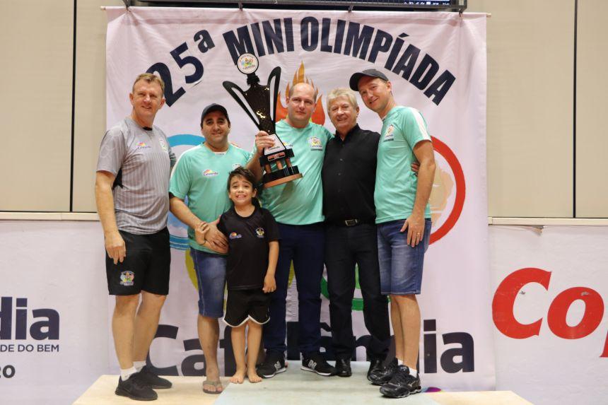 25ª Miniolimpíada chega ao fim e a Escola André Luiz é a grande campeã
