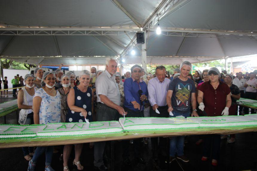 Cafelândia comemora 34º aniversário com grande festa