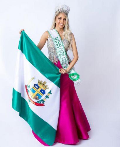 Gabriela Yasmin conquista o 2º lugar no Miss Paraná