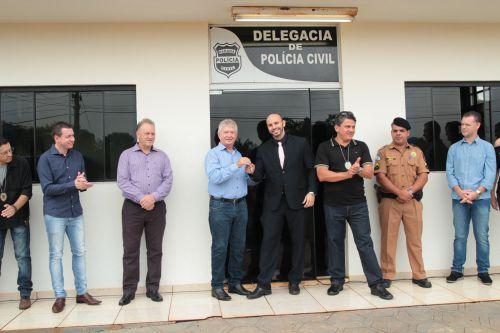 Estrutura da Polícia Civil de Cafelândia é reaberta