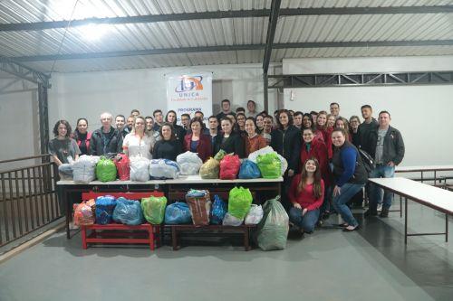 CRAS de Cafelândia recebe doações da UNICampanha