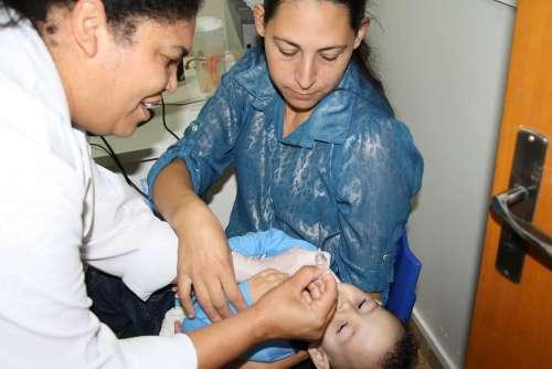 Meta em Cafelândia é vacinar 1.848 crianças contra Poliomielite e Sarampo