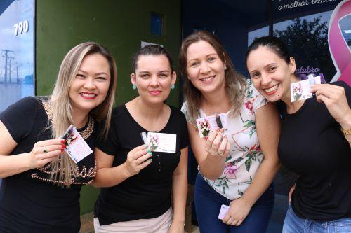Equipe do NASF de Cafelândia realiza ação do Dia da Mulher