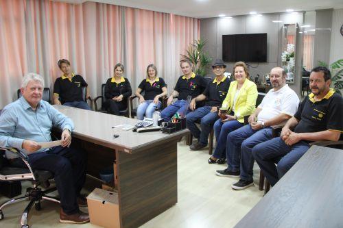 Prefeito Dr. Franus recebe a visita da Governadora do Rotary Club