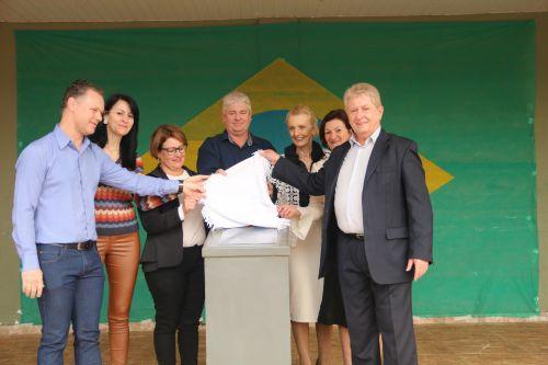 Governo de Cafelândia inaugura o anfiteatro da Casa da Cultura