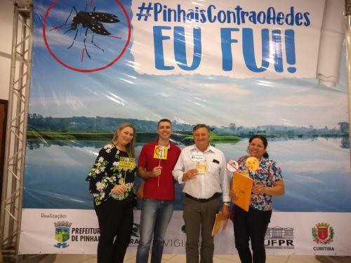 Servidores da saúde de Cafelândia participam do 1º Encontro Intermunicipal de Vigilância