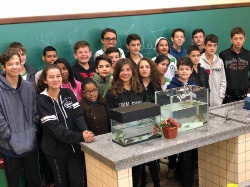 """Projeto """"Águas Residuais"""" dos alunos do Colégio Maria Destefani Griggio de Cafelândia será apresentado em São Paulo"""