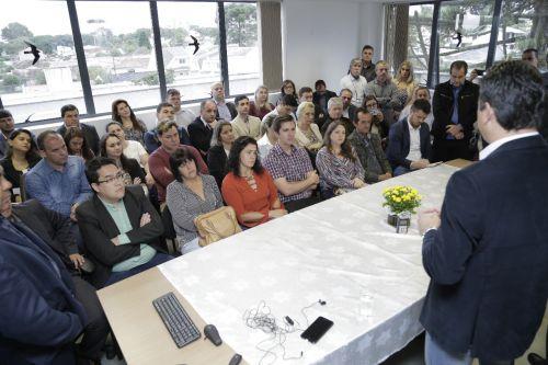 Prefeito Dr. Franus participa de audiência sobre projeto de implantação de polo de ensino à distância em Cafelândia