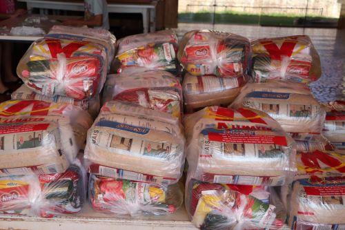 Fundação Padre Luis Luise de Cafelândia recebe doação de cestas básicas