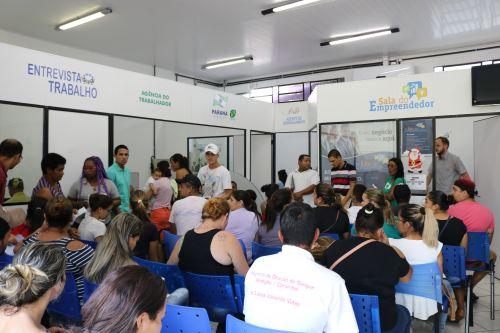 Mais de 2.500 trabalhadores foram contratados através da Agência do Trabalhador de Cafelândia