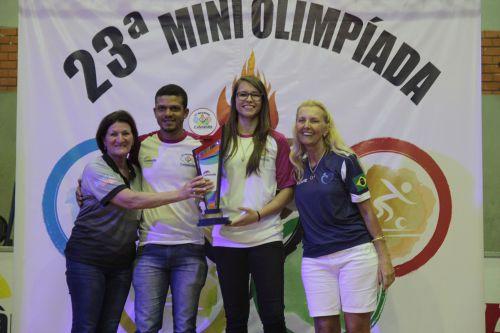 Escola André Luiz é a grande campeã da 23ª Miniolimpíada