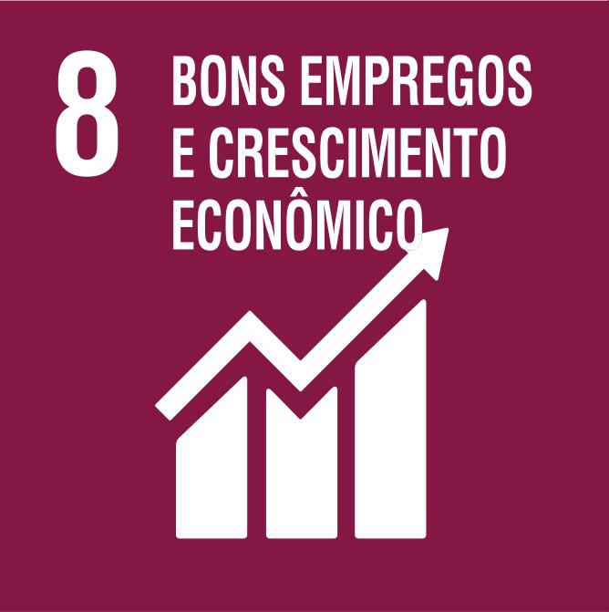 Crescimento Econômico e Emprego (Promover o crescimento econômico sustentado, inclusivo e sustentável, o emprego pleno e produtivo e trabalho decente para todos).