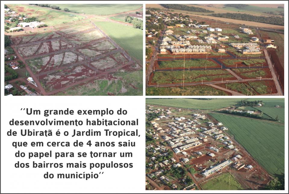 Construção civil alavanca economia em Ubiratã e transforma a cidade
