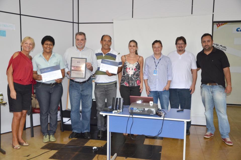 Esse curso foi promovido em uma parceria da Administração Caminhando para o Futuro, com o Sebrae, Emater e Sindicato dos Trabalhadores Rurais