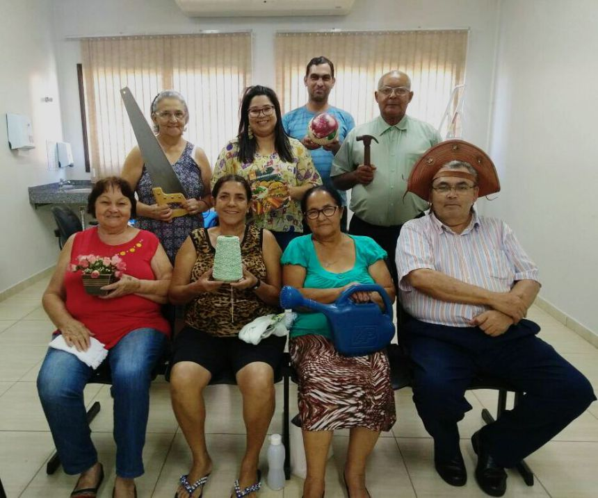 """Projeto """"Envelhe Ser"""" foi realizado na Unidade de Saúde Josefina"""