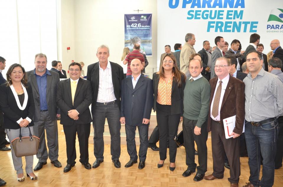 O prefeito de Ubiratã, Haroldo Fernandes Duarte e