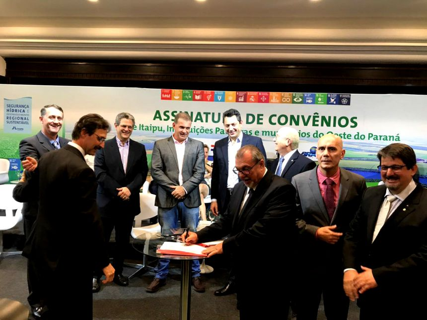 Itaipu se consolida como maior parceira de Ubiratã e de 53 municípios do oeste do Paraná