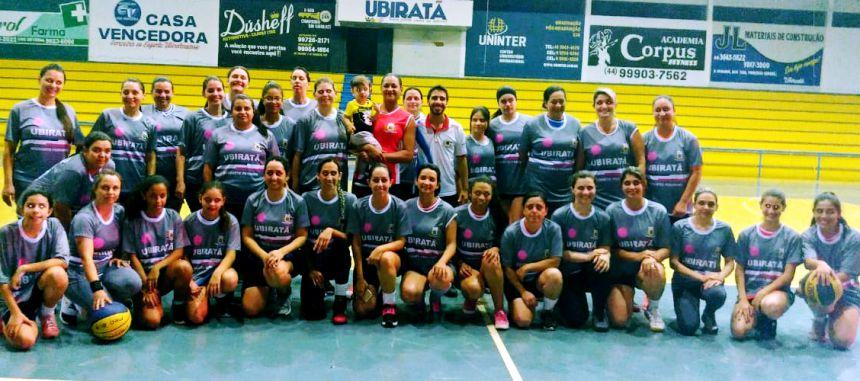 Final do Campeonato Municipal de Basquete Feminino acontece nesta quarta-feira