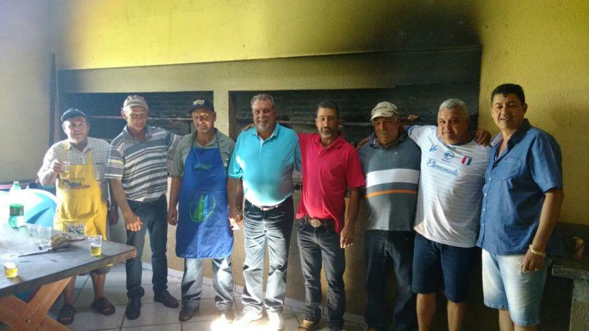 Prefeito Baco e Vice Nil participam de Almoço nas Três Placas