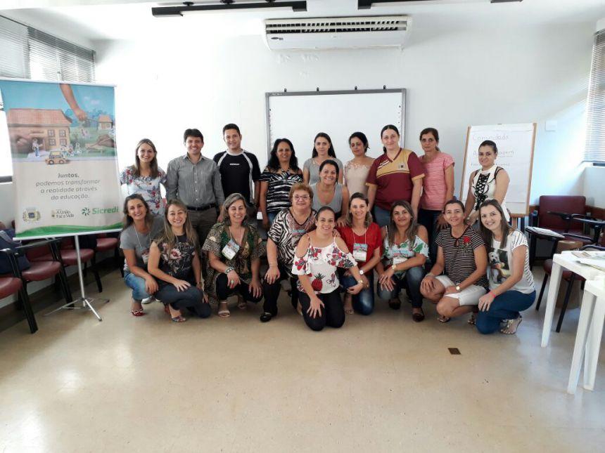 """Professores participam de formação do """"Programa A União Faz a Vida"""""""
