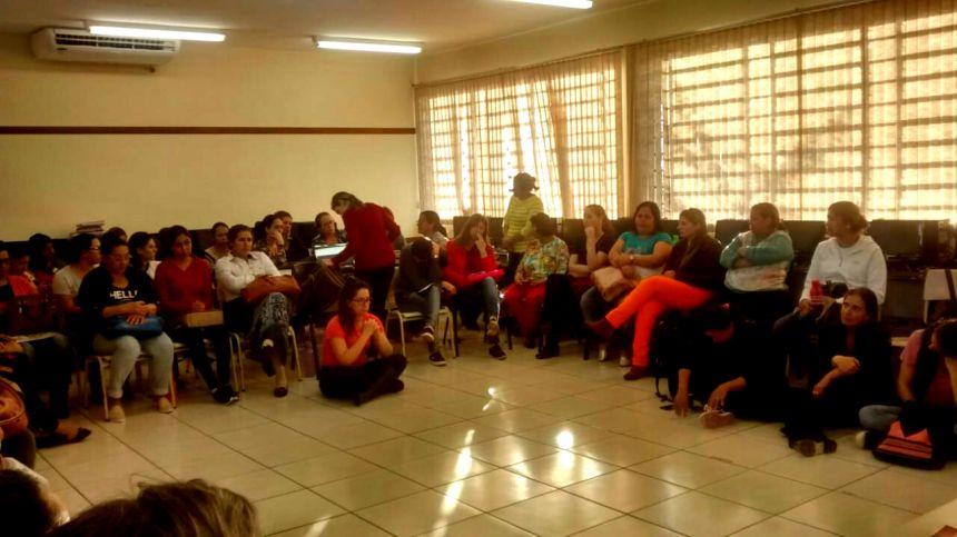 Professores municipais participam de planejamento escolar