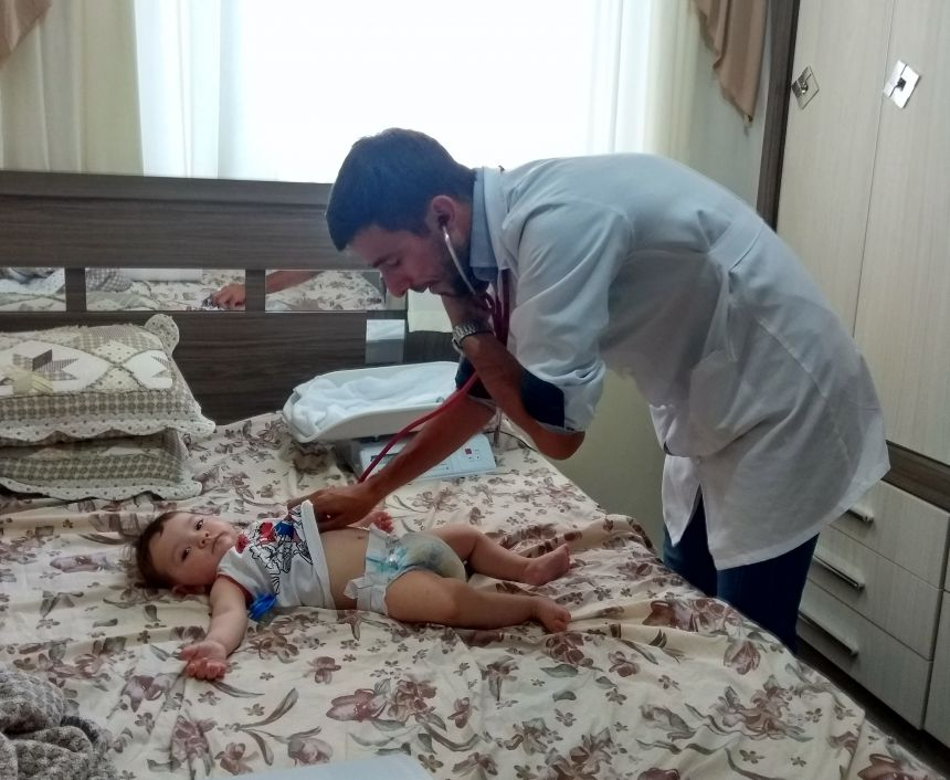 Puericultura: atenção integral à saúde das crianças é desenvolvida em Ubiratã