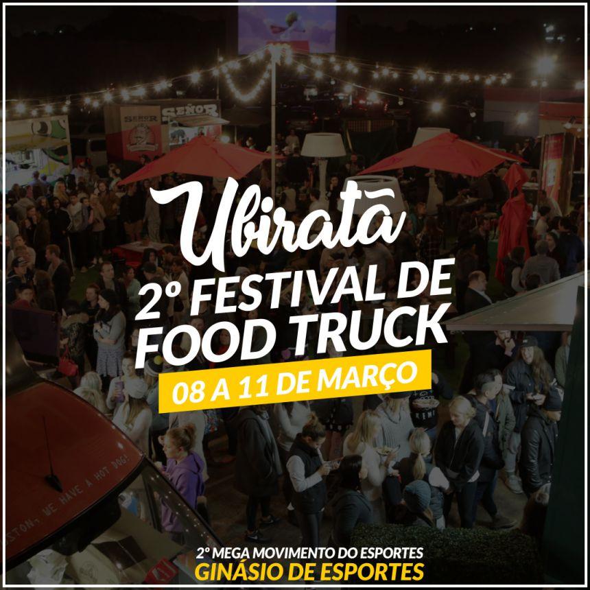 Mega Movimento do Esporte contará com festival de Food trucks