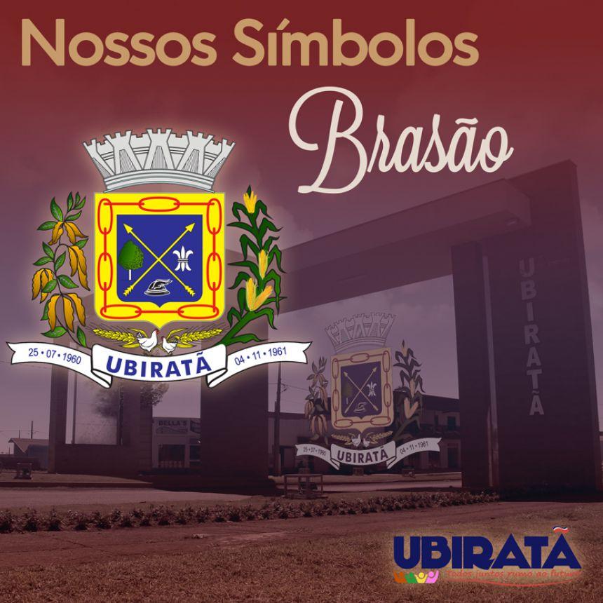 Conheça os Símbolos Municipais de Ubiratã