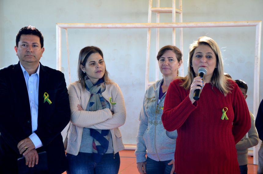 Escola Municipal Dr. Gentil Toledo recebeu apresentações da Semana da Pátria nesta quinta-feira