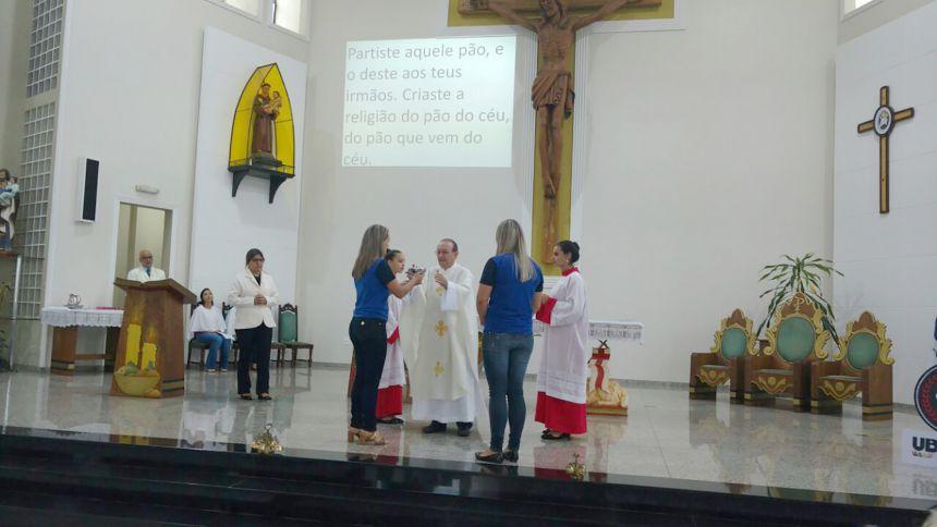 Missa em ação de graças no aniversário de Ubiratã