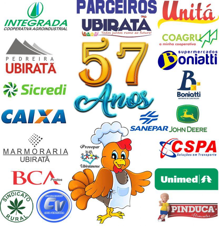 Almoço solidário do aniversário de Ubiratã contou com a colaboração de diversos parceiros
