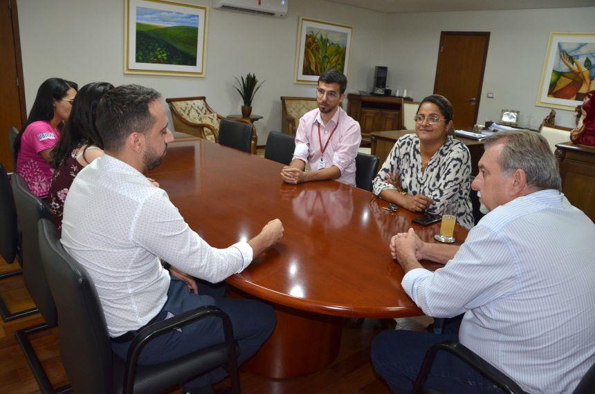 Técnicos do Hospital Albert Einstein de São Paulo visitaram Ubiratã para conhecer o trabalho desenvolvido pela Secretaria de Saúde