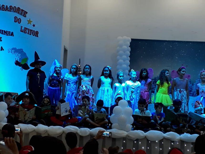 Escola Cleide Borges Reis realizou encerramento do Projeto Passaporte do Leitor 2018