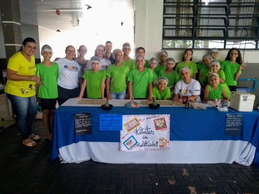 Escola Municipal Dr. Gentil Toledo de Moraes Júnior realizou a feirinha do JEPP