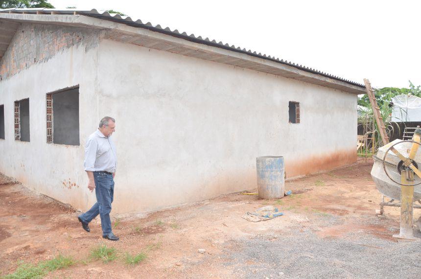 Unidade de Saúde Vila Esperança está sendo ampliada para melhor atender a população