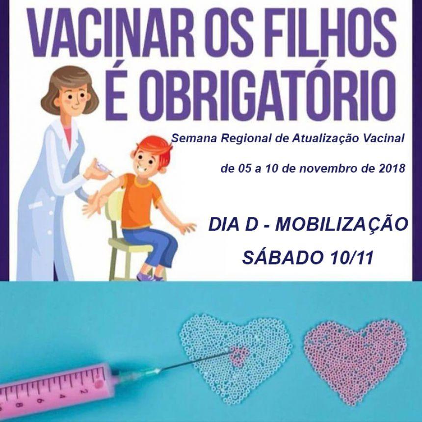 Alunos precisam atualizar a Carteira de Vacinação para Matrícula: Semana Regional de Atualização Vacinal acontece até sábado
