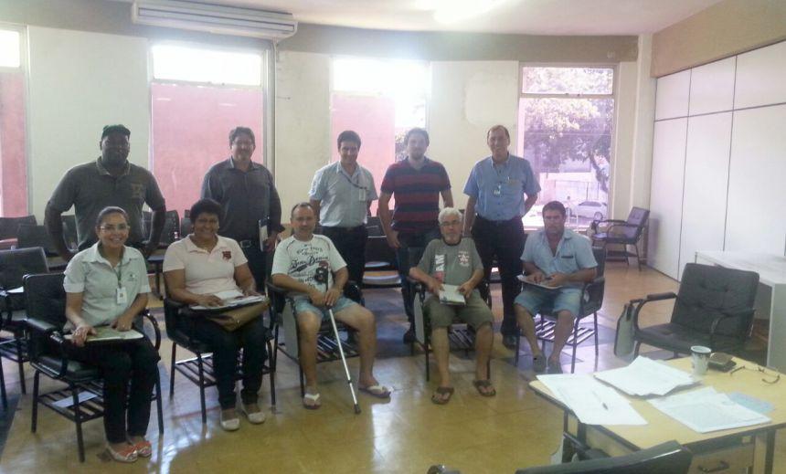 Reunião da equipe gestora DRS, em apoio à produção e comercialização de hortifrutigranjeiros