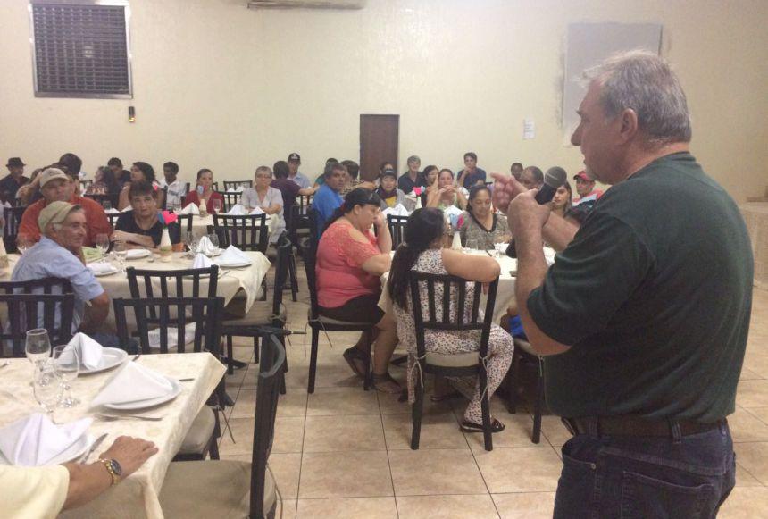 CAPS realizou jantar em comemoração ao Dia da Saúde Mental