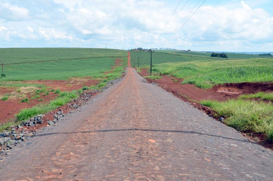 Na Estrada Mato Grosso o valor total a ser empregado é de R$ 500.000,00