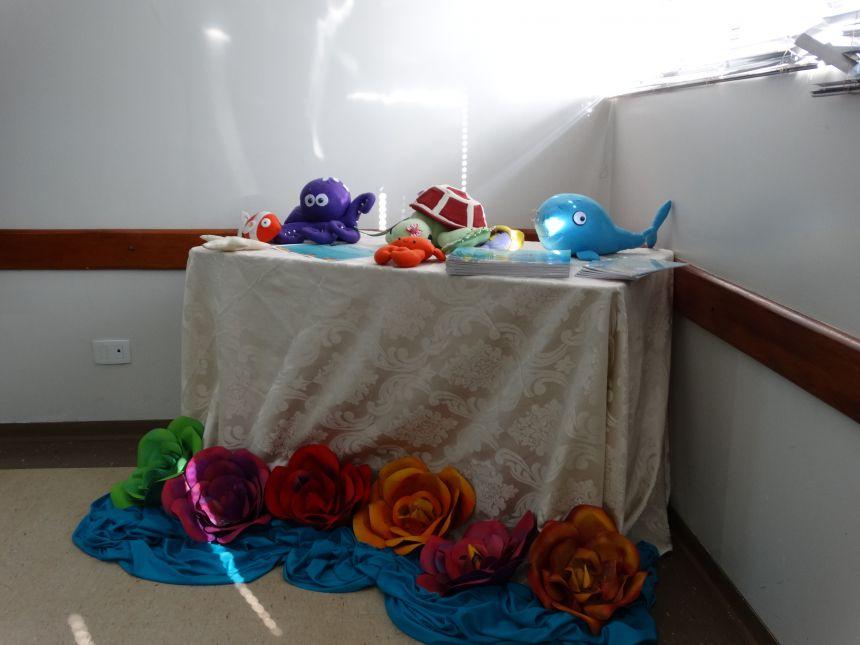 Materiais que serão utilizados com as crianças do município na prevenção do abuso sexual infantil