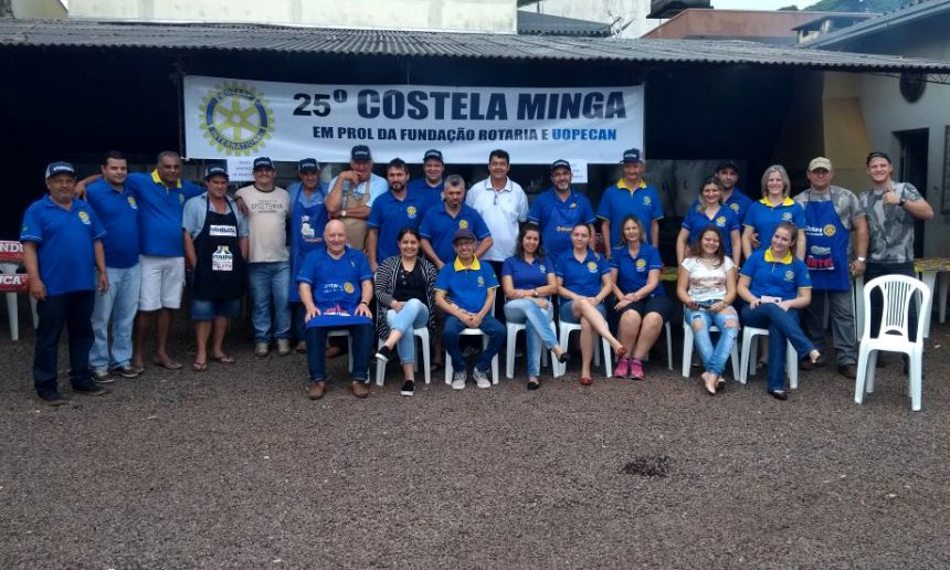Vice-prefeito Nil Pereira prestigia Promoção Costela Minga do Rotary