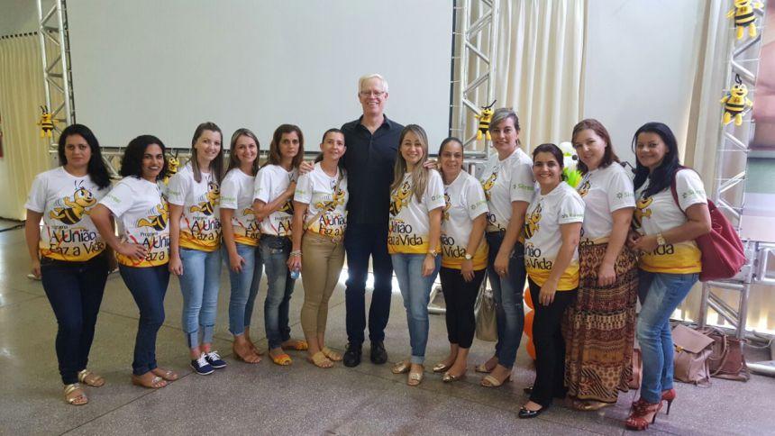 Professores de Ubiratã participam de encontro regional em Palotina