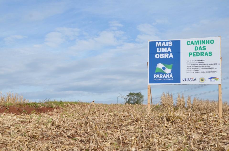 A execução desse serviço atende a reivindicação de vários produtores rurais que diariamente trafegam pelos trechos a serem beneficiados