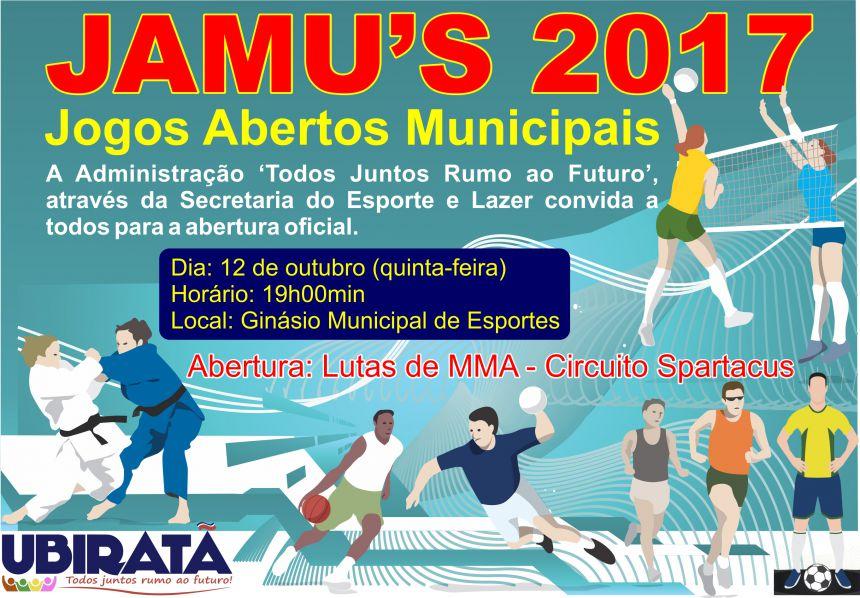 JAMUs 2017 começa na quinta-feira com lutas de MMA na abertura