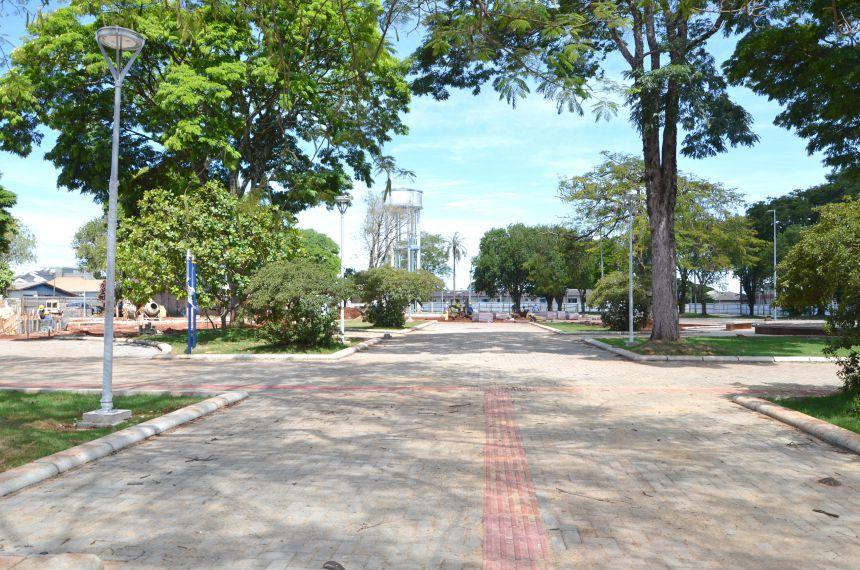 Praça Pio XII se transforma em um verdadeiro cartão postal do município